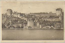 CPA - CHATEAU DE ROUMELI HISSAR SUR LE BOSPHORE - Turquie