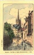 LOUVAIN    La Dyle Et Eglise Saint Gertrude. - Tienen