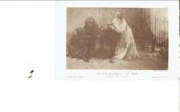 """ITALY 1924 - POSTCARD - REPRODUZIONE """"LA MORTE DI CHOPIN"""" DI A.PIATTI -FOTOCALCOGRAFIA FUSETTI INVIATA IL 7.10.1924 POST - Cantanti E Musicisti"""
