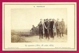 Carte Album N° 455 - Œuvre D'Alexandre Protais - La Séparation - Metz - 29 Octobre 1870 - Guerra, Militares