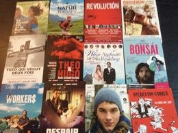 12 Cartes Postales : Films Cinéma (voir Les Titres Sur Photo) (Lot A1) - Non Classés