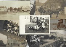 Lot 1487 De 10 CPA CPSM Cartes Photo RPPC Déstockage Pour Revendeurs Ou Collectionneurs - Postcards