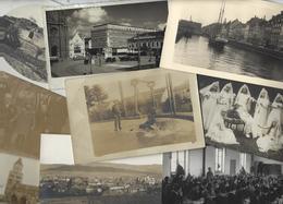 Lot 1488 De 10 CPA CPSM Cartes Photo RPPC Déstockage Pour Revendeurs Ou Collectionneurs - Postcards