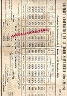 79-LA MOTHE SAINT HERAYE- RARE ETAT CAISSE DU TRESORIER LAITERIE COOPERATIVE DU 1ER JANVIER AU 31 DECEMBRE 1909 - Food