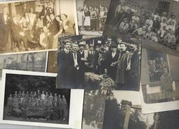 Lot 1493 De 10 CPA CPSM Cartes Photo RPPC Déstockage Pour Revendeurs Ou Collectionneurs - Postcards