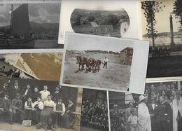 Lot 1494 De 10 CPA CPSM Cartes Photo RPPC Déstockage Pour Revendeurs Ou Collectionneurs - Postcards
