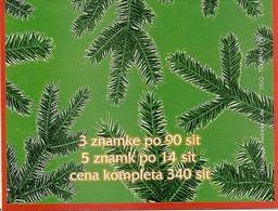 SLOVENIA, 1997, Booklet 7, Christmas 1997, Mi MH1 - Slovénie