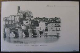 Carte Postale Précurseur Limoges - Le Pont St-Etienne - Cathédrale - Abbessaille - Non-circulée - Limoges