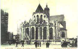 LOUVAIN  Abside De L ' église Saint Pierre. - Leuven