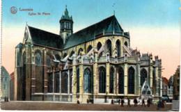LOUVAIN  Eglise St Pierr. - Leuven
