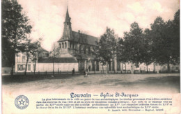 LOUVAIN   église St Jacques. - Leuven