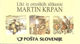 SLOVENIA, 2002, Booklet 18, Mart. Krpan, Mi 389/391 - Slowenien
