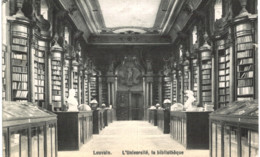 LOUVAIN   L' Université; La Bibliothèque. - Leuven