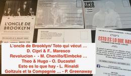 5 Cartes Postales : Films Cinéma (voir Les Titres Sur Photo) - Merchandising
