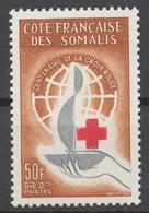 French Somali Coast 1963 Mi# 350** RED CROSS, CENTENARY - Neufs