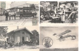 Lot De 100 Cartes Postales Anciennes Diverses Variées -  Très Très Bon Pour Un Revendeur Réf, 274 - Postcards