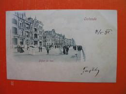 Ostende.Digue De Mer.Stengel&Cie.5915.Sent To Radna(Sevnica) - Oostende