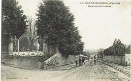 CPA - France - (85) Vendée - La Chataigneraie - Avenue De La Gare - La Chataigneraie