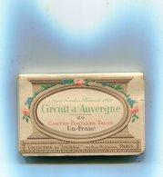 63 - Circuit D' AUVERGNE : Coupe GORDON BENNETT 1906 - Carnet De 20 Cartes Postales - France