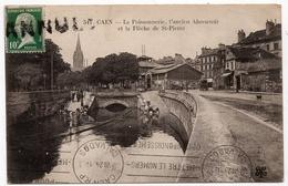 Caen : La Poissonnerie, L'ancien Abreuvoir, La Flèche De St-Pierre (Edit. MTIL N°511) - Caen