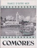 Dépliant FRANCE D'OUTRE-MER : L'ARCHIPEL DES COMORES - Dépliants Touristiques