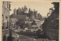 Belgique - La Roche-en-Ardenne - Château - Confluent Du Bronze - La-Roche-en-Ardenne