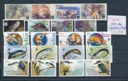 Motiv-Tiere WWF ** Lot -nichts Gerechnet....   (ze9690  ) Siehe Scan - W.W.F.