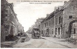 Marne : Jonchery Sur Vesle : Rue Principale - Jonchery-sur-Vesle