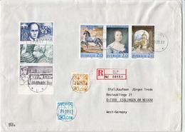 Postal History Cover: Sweden R Cover With Full Set - Sweden