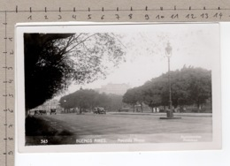 Buenos Aires - Avenida Alvear (1936) - Argentina