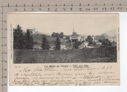 La Côte-aux-Fées - Les Bolles Du Temple (1904) - NE Neuchâtel