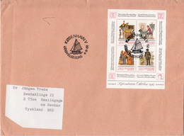 Postal History Cover: Denmark Cover With SS - Philatelic Exhibitions