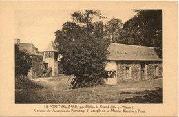 LE PONT MUZARD Colonie De Vacances Du Patronage St Joseph De La Maison Blanche A Paris - France