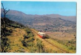 Chemins De Fer Régionaux Et Urbains N° 01 La CORSE - Autorail Billard Ligne Balagne  - Belgodere - TTBE - CPM - 2 Scans - Trenes