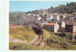 Chemins De Fer Régionaux Et Urbains N° 03 - CORREZE - Ligne De Tulle à Argentat - Train Vapeur - TTBE - CPM - 2 Scans - Trenes