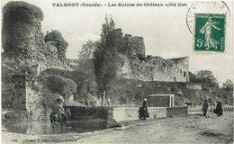 CPA - France - (85) Vendée - Talmont Saint Hilaire - Les Ruines Du Château - Talmont Saint Hilaire