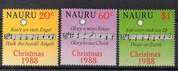 NAURU  Timbres Neufs ** De 1988  ( Ref 15 B )  Noël - Nauru