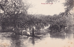 CONGO  Passage D'une Rivière  ( Plan Animé ) - Congo Francese - Altri