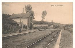 Caudebec  Les Elbeuf - Gare   -  CPA° - Caudebec-lès-Elbeuf