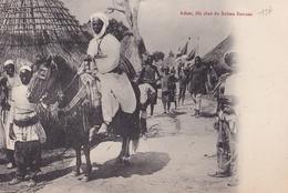 CONGO  ADEM Fils Ainé Du Sultan SNOUSSI ( Plan Animé ) - Congo Francese - Altri