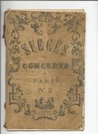 Recueil De 8 Chansons / Succés Nouveaux Des Concerts De Paris/ - Music & Instruments