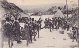 CONGO   Village   BOUBOUS ( Plan Animé ) - Congo Francese - Altri