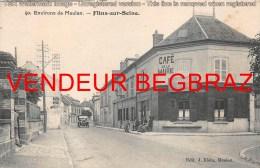 FLINS SUR SEINE        CAFE DE LA MAIRIE - Flins Sur Seine