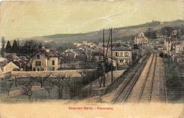 VAUX SUR SEINE    PANORAMA   CHEMIN DE FER - France