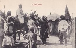 CONGO   Le Sultan  SNOUSSI  ( Plan Animé ) - Congo Francese - Altri