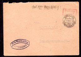 """SBZ, Gebühr Bezahlt Brief  """"Hammersleben"""" - Sowjetische Zone (SBZ)"""