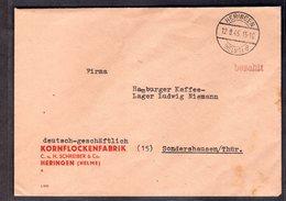 """SBZ, Gebühr Bezahlt Brief  """"Heringen"""" - Sowjetische Zone (SBZ)"""