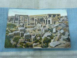 Karnak Vue Générale Des Colonnades Egypt - Egitto