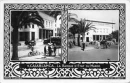 CASABLANCA.- LA BANQUE D'ETAT DU MAROC - Casablanca