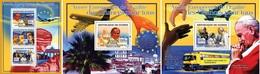 Guinea 2007, European Year Of Eguality, Mother Teresa, Pope J. Paul II, 3val In BF +2BF - Mother Teresa